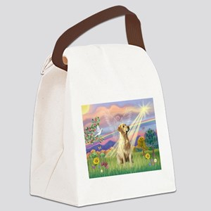 Cloud Angel / Lab (y) Canvas Lunch Bag