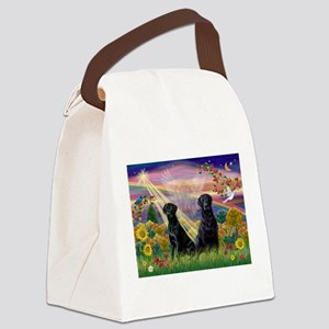 Autumn Angel / Lab (2blk) Canvas Lunch Bag