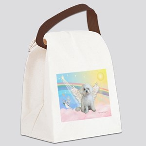 Maltese / Angel Canvas Lunch Bag