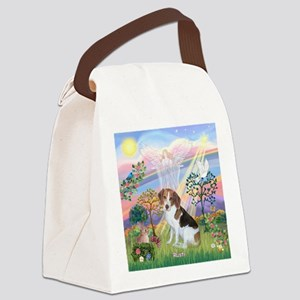 Cloud Angel 2 & Rusti Canvas Lunch Bag