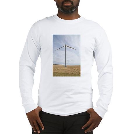 Wind Turbine Long Sleeve T-Shirt
