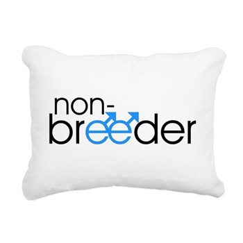 Non-Breeder - Male Rectangular Canvas Pillow