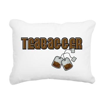 Teabagger Rectangular Canvas Pillow