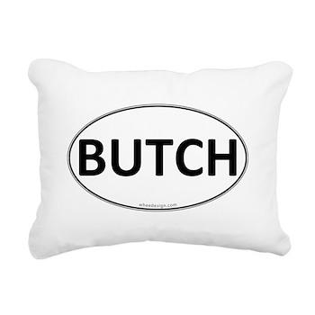 BUTCH Euro Oval Rectangular Canvas Pillow