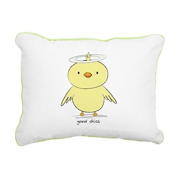 Good Chick Rectangular Canvas Pillow