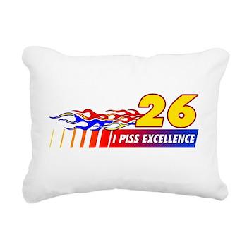 I Piss Excellence Rectangular Canvas Pillow