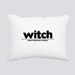 Generic witch Costume Rectangular Canvas Pillow