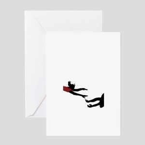 Headed your way! Greeting Card
