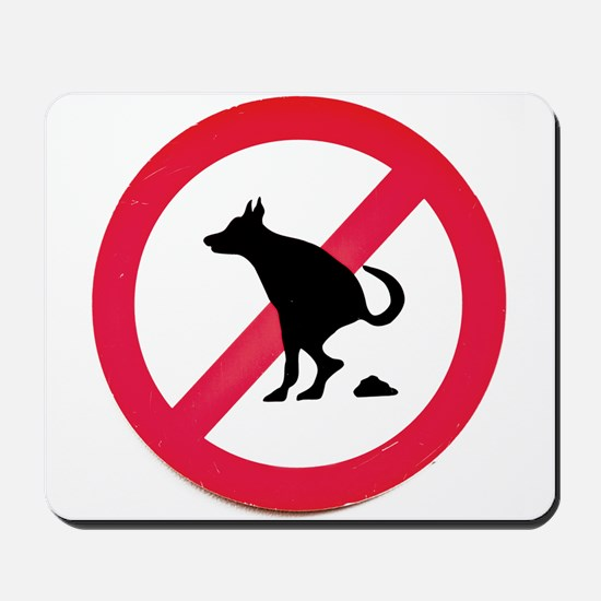 No pooping Mousepad