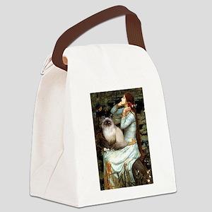 Ophelia & Himalayan Canvas Lunch Bag