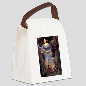 Ophelia / Canvas Lunch Bag