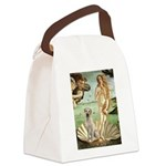 Venus - Yellow Lab #7 Canvas Lunch Bag