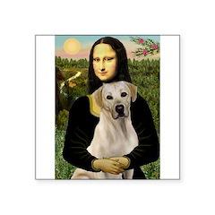 Mona Lisa / Lab (y) Square Sticker 3