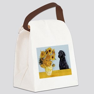 Sunflowers / Lab Canvas Lunch Bag