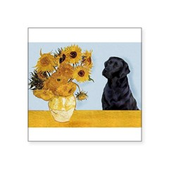 Sunflowers / Lab Square Sticker 3