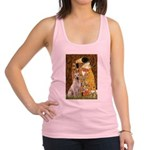 The Kiss-Yellow Lab Racerback Tank Top