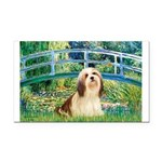 Bridge / Lhasa Apso #4 Rectangle Car Magnet