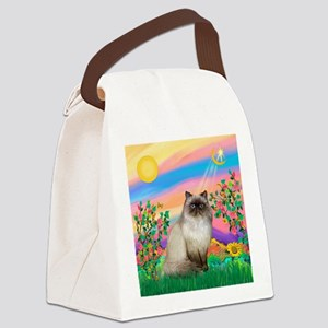 Day Star / Himalayan Cat Canvas Lunch Bag