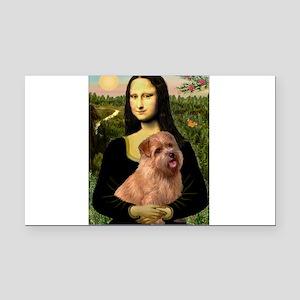Mona / Norfolk Terrier Rectangle Car Magnet
