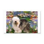 Lilies / OES Rectangle Car Magnet