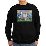 Lilies / Ragdoll Sweatshirt (dark)