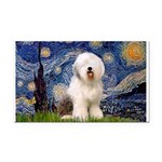 Starry / OES Rectangle Car Magnet