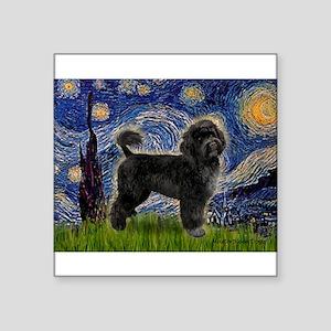 "Starry Night / PWD (#2) Square Sticker 3"" x 3"""