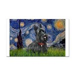 StarryNight-Scotty#1 Rectangle Car Magnet
