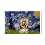 STARRY / Yorkie (17) Rectangle Car Magnet