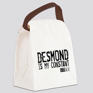 Desmond Is My Constant Canvas Lunch Bag