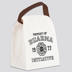 Property of Dharma Distresses Canvas Lunch Bag