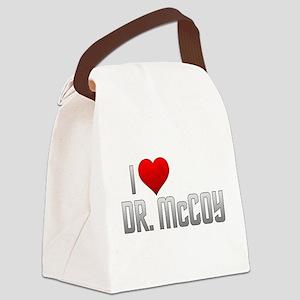 I Heart Dr. McCoy Canvas Lunch Bag