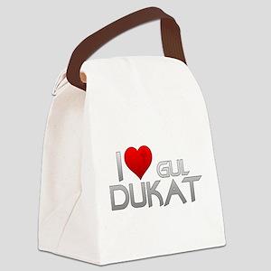 I Heart Gul Dukat Canvas Lunch Bag
