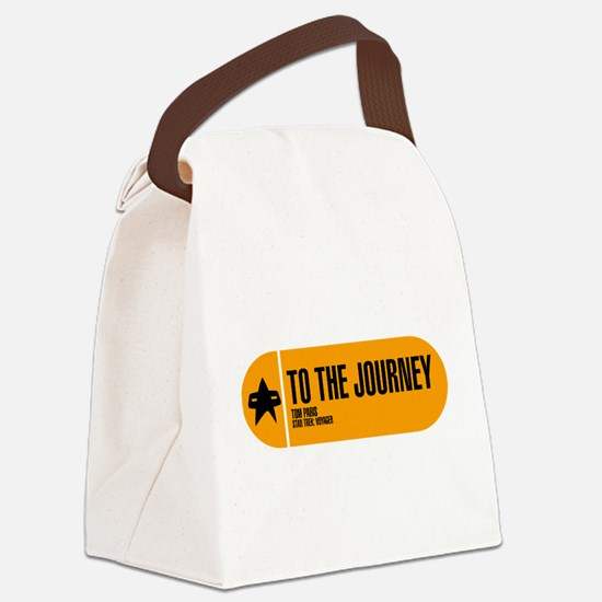 To the Journey Canvas Lunch Bag