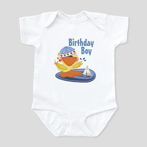 Birthday Boy Duckie Infant Bodysuit