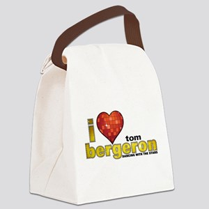 I Heart Tom Bergeron Canvas Lunch Bag