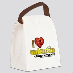 I Heart Valentin Chmerkovskiy Canvas Lunch Bag