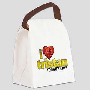 I Heart Tristan MacManus Canvas Lunch Bag