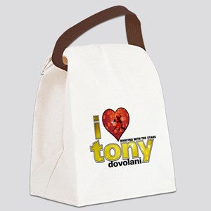 I Heart Tony Dovolani Canvas Lunch Bag