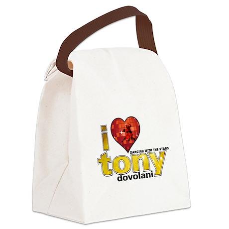 I Heart Tony Dovolani Canvas Lunch Bag