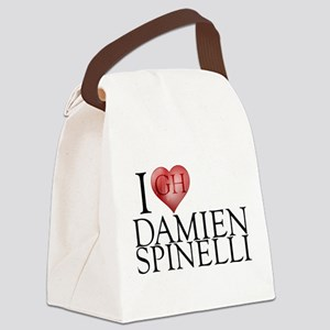 I Heart Damien Spinelli Canvas Lunch Bag