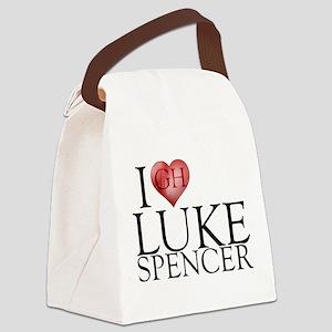 I Heart Luke Spencer Canvas Lunch Bag