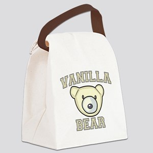Vanilla Bear Canvas Lunch Bag