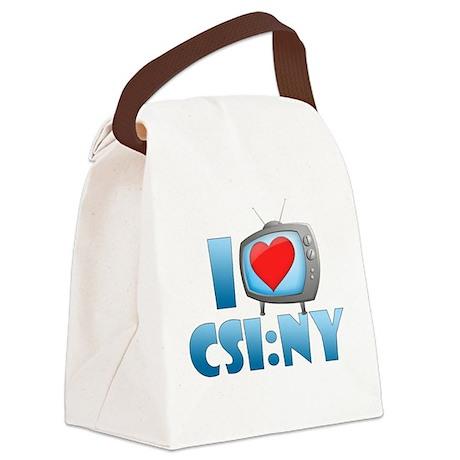 I Heart CSI: NY Canvas Lunch Bag