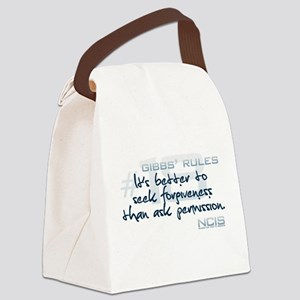 Gibbs' Rules #18 Canvas Lunch Bag