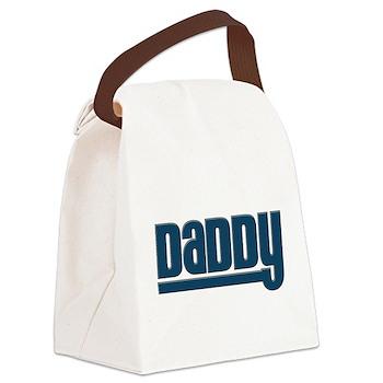 Daddy - Blue Canvas Lunch Bag