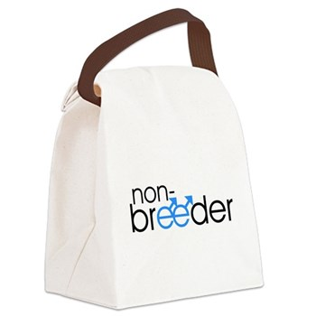 Non-Breeder - Male Canvas Lunch Bag