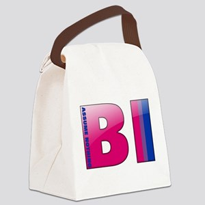 BI - Assume Nothing Canvas Lunch Bag