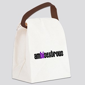 Ambisextrous Canvas Lunch Bag
