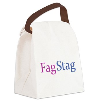 Fag Stag Canvas Lunch Bag